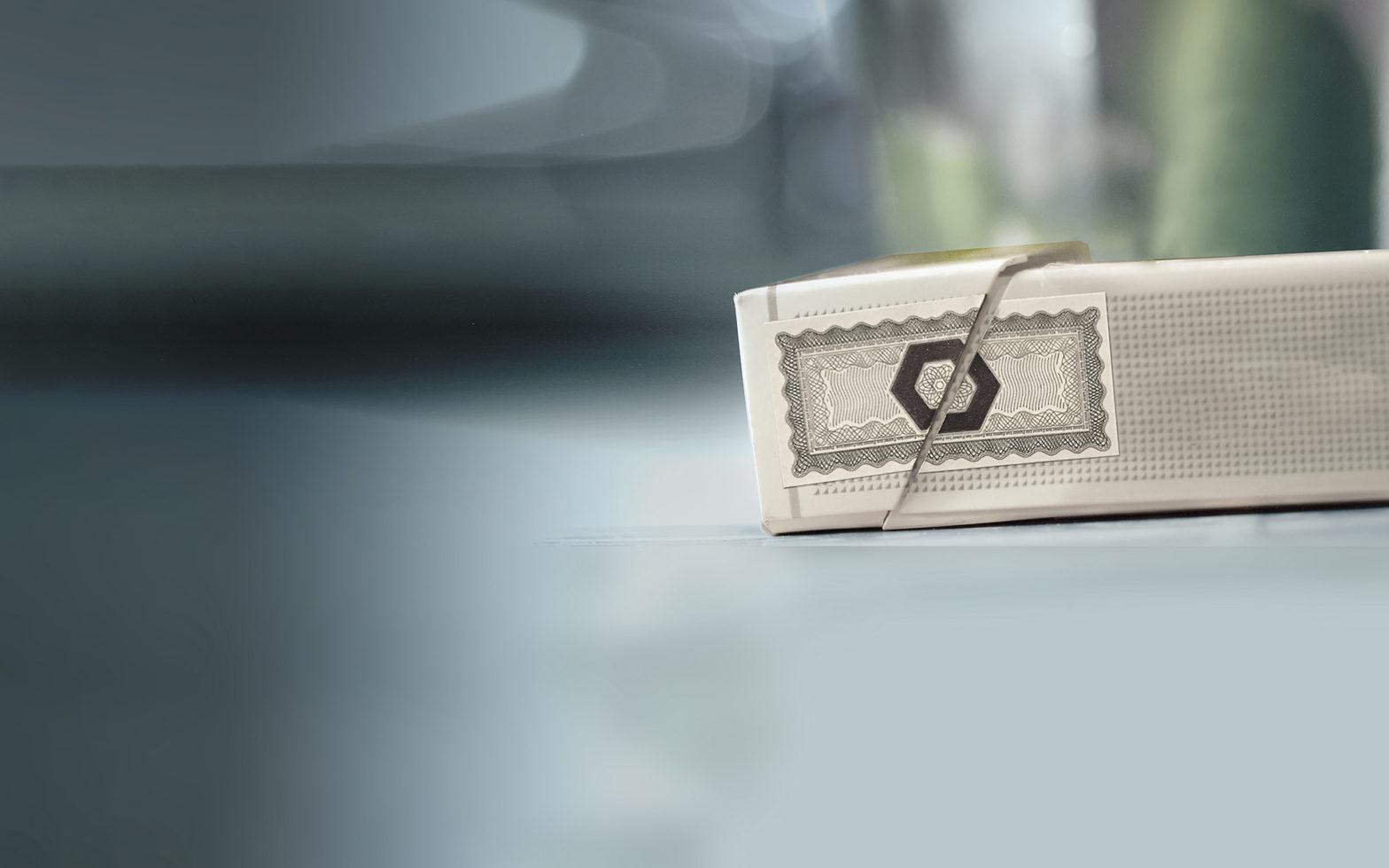 Olnica customer - Philaposte Tax stamp